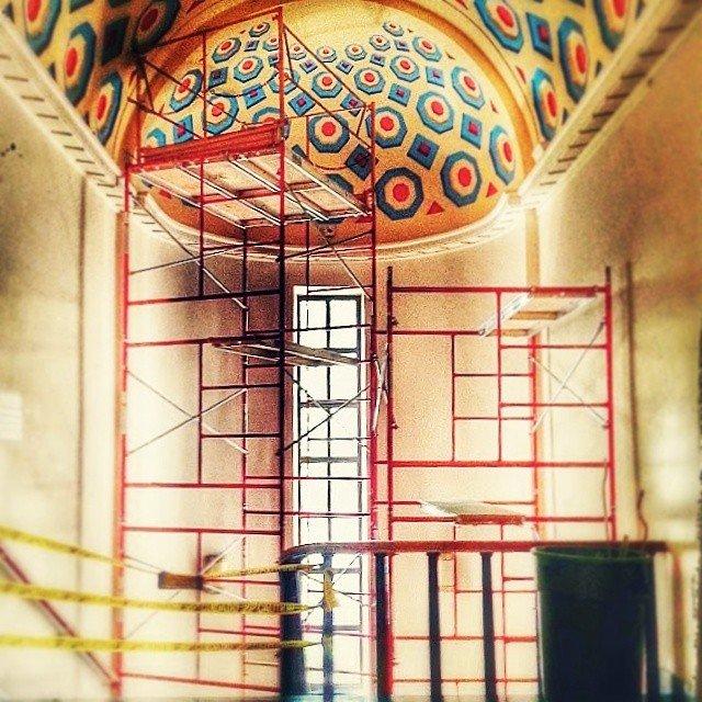 #scaffolding #mondrian