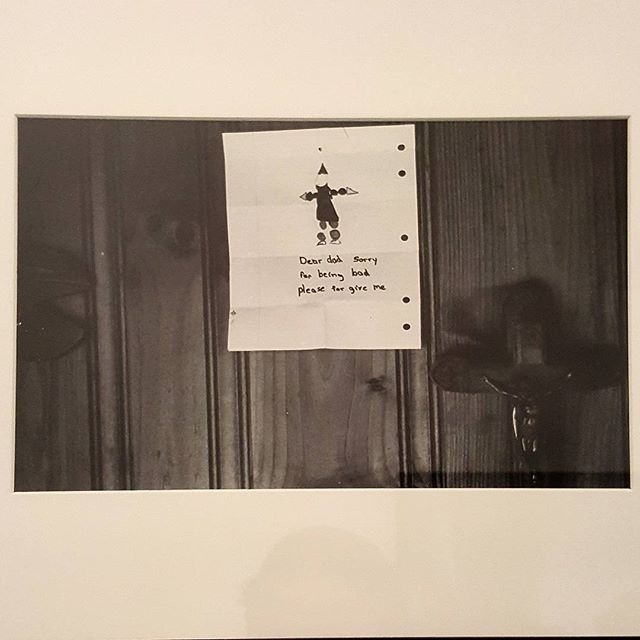 Larry Clark b. 1943 Untitled (Note on Wall) 1991 Parish art museum
