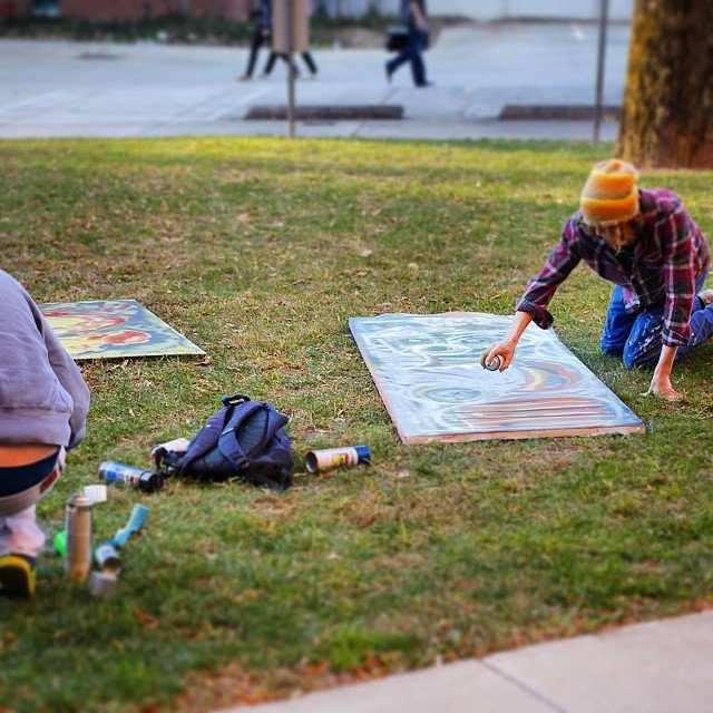 #pennstate #artists at #work