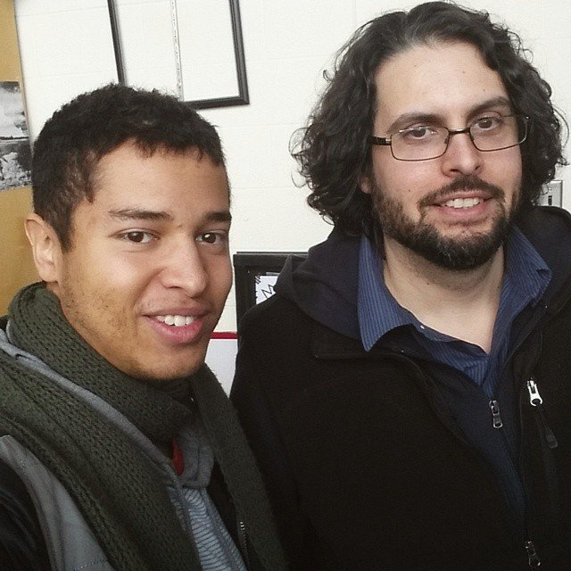 Studio visit with artist Roland Becerra
