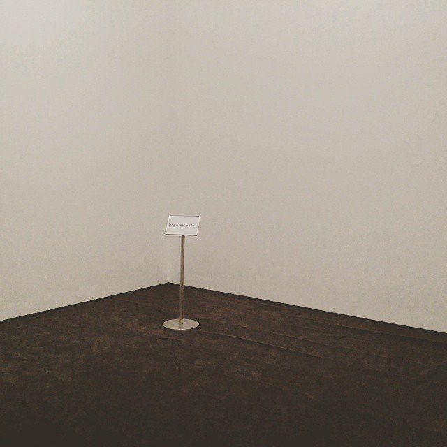 Yoko Ono empty touch each other installation